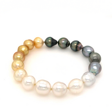 Load image into Gallery viewer, Ombré South Sea Pearl Bracelet | Blacy's Vault