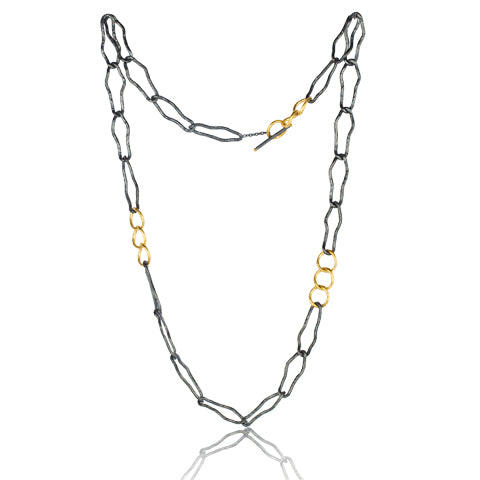 Lika Behar Elongated Reflections Necklace | Blacy's Fine Jewelers