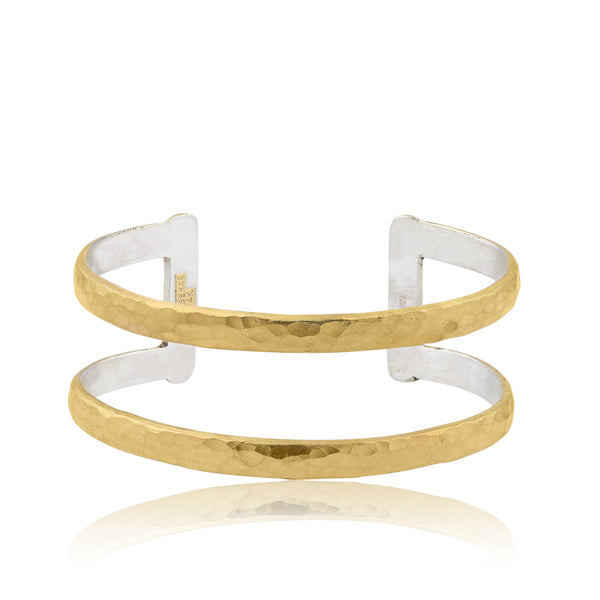 Lika Behar Stockholm Two Tier Open Cuff | Blacy's Fine Jewelers