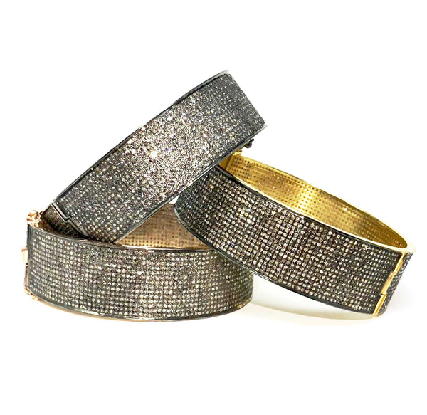 Diamond Paved Bangle Bracelet | Blacy's Fine Jewelers