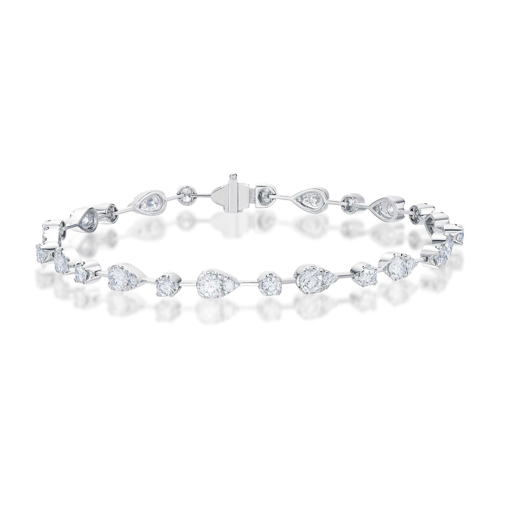 Memoire Diamond Tennis Bracelet | Blacy's Fine Jewelers