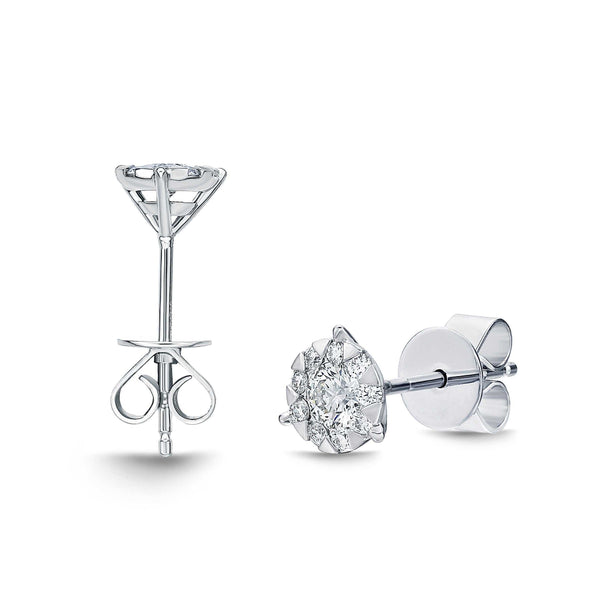 Memoire Diamond Bouquets Collection Earrings | Blacy's Fine Jewelers