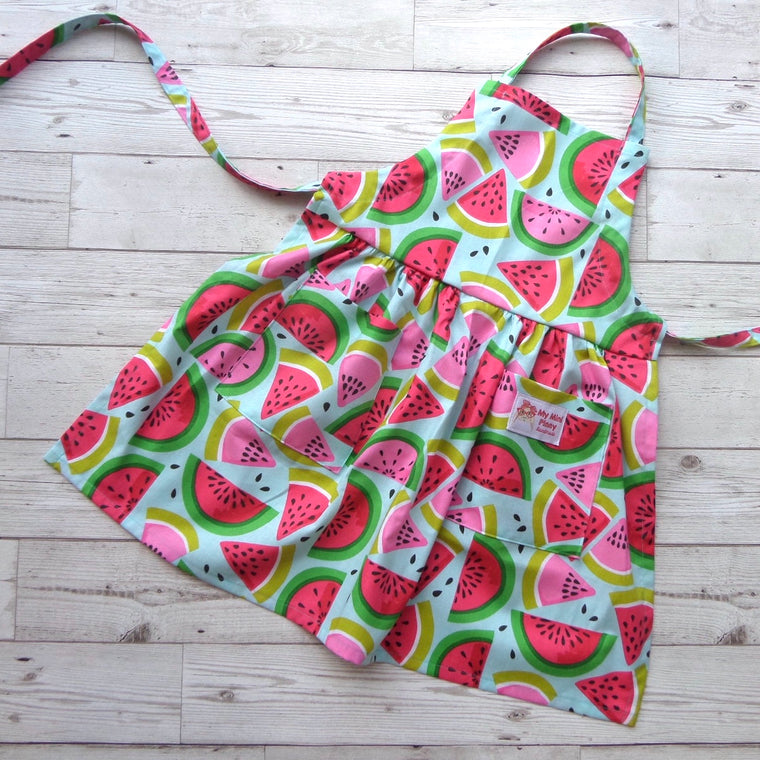 Handmade Watermelon Child's Apron