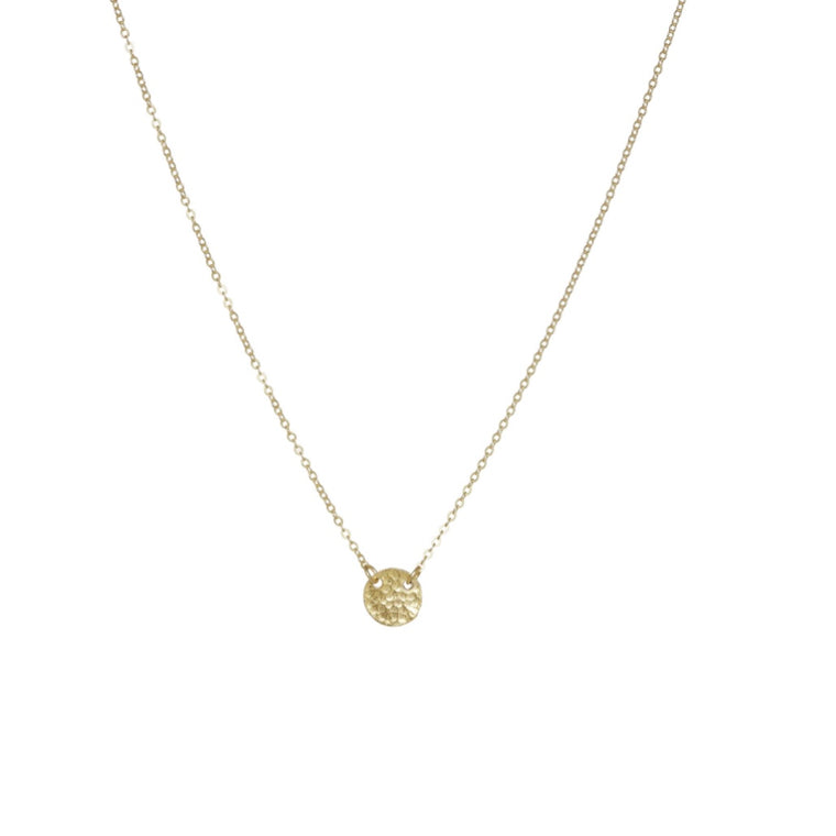 Cleopatra Short Gold Coin Necklace