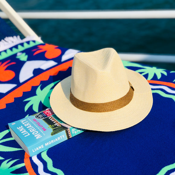 Cream Panama Hat