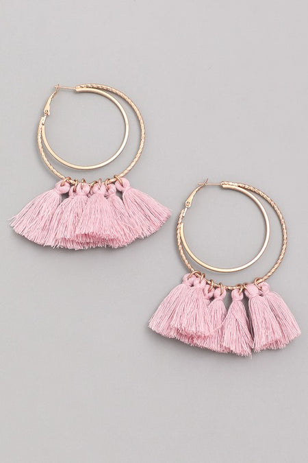 ABBY EARRINGS BLACK