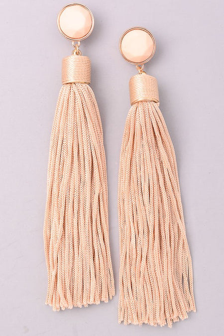 REBECCA EARRINGS BLUSH