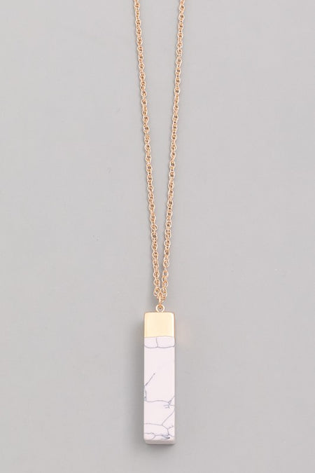 CADEN NECKLACE - TAUPE