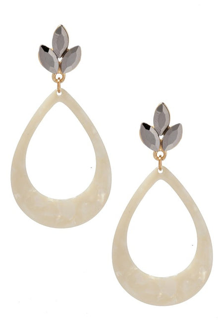 BRIANNA EARRINGS - PEACH