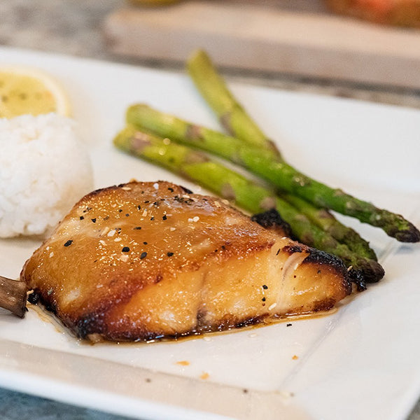 Miso-Marinated Sablefish (Black Cod)