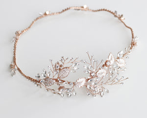Rose Gold Crown Headband