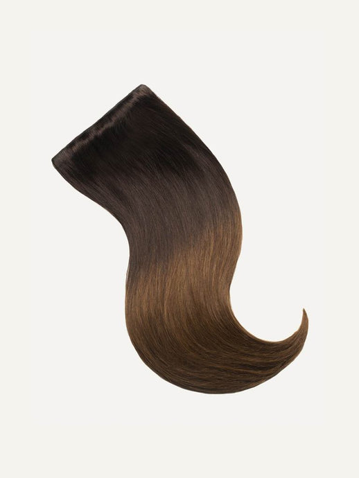 T2/6 Ombre Dark Brown/Light Brown 22inch 220grams