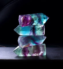 Fluorite Hexagonal Crystal