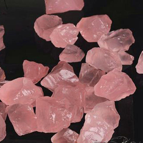 Raw Pink Rose Quartz Crystal