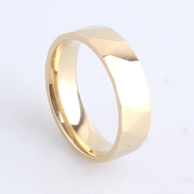 Simple Stainless Steel Ring