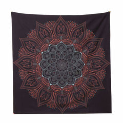 Night Mandala Tapestry