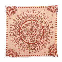 Red Mandala Tapestry