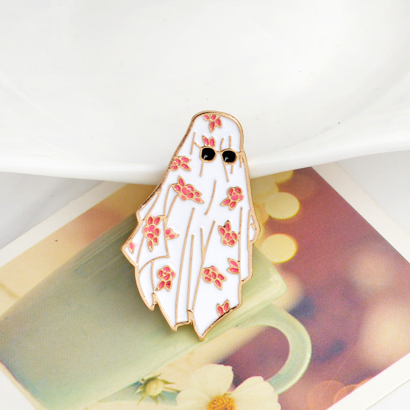 Cool Ghost Pin