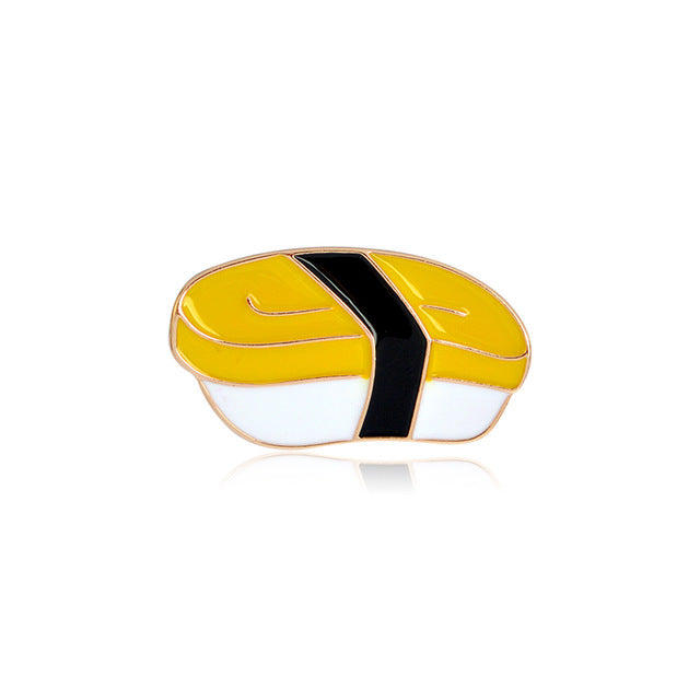 Yellow Sushi Pin