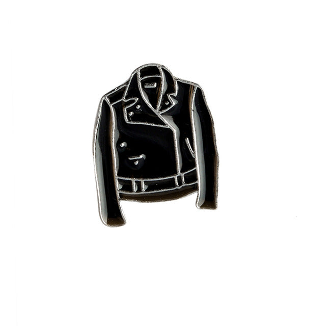 Leather Jacket Pin
