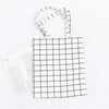 Image of Grid Canvas Tote