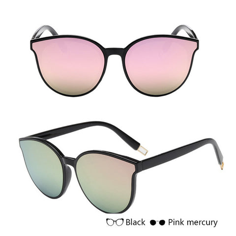 Mirrored Cat Sunglasses