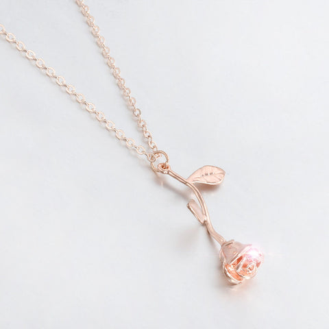 Classic Rose Necklace