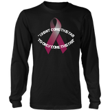 I DIDNT COME THIS FAR - WOMEN LONG SLEEVE