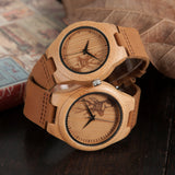 Wooden Deer Watch