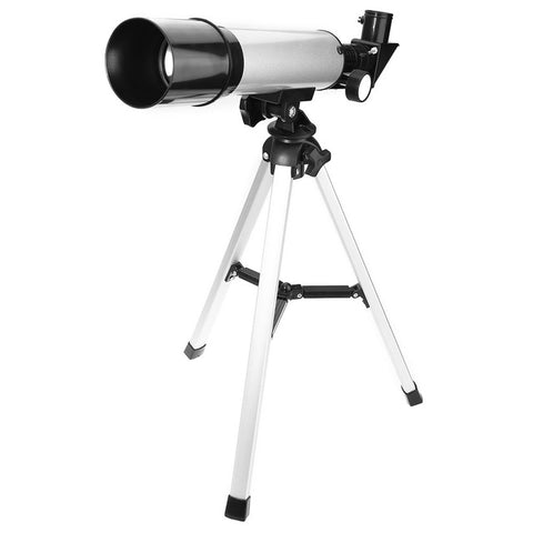 2 Monocular Telescopes With Tripod Refractor Spyglass