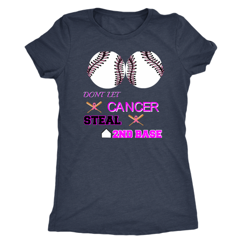 DONT LET CANCER - NEXT LEVEL WOMEN TEE