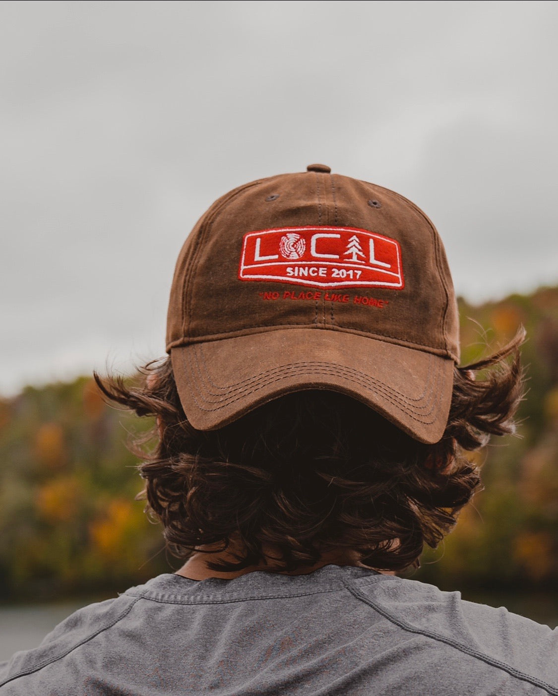 Waxed Canvas Hat - Brown