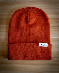 Cuffed Beanie - Burnt Orange