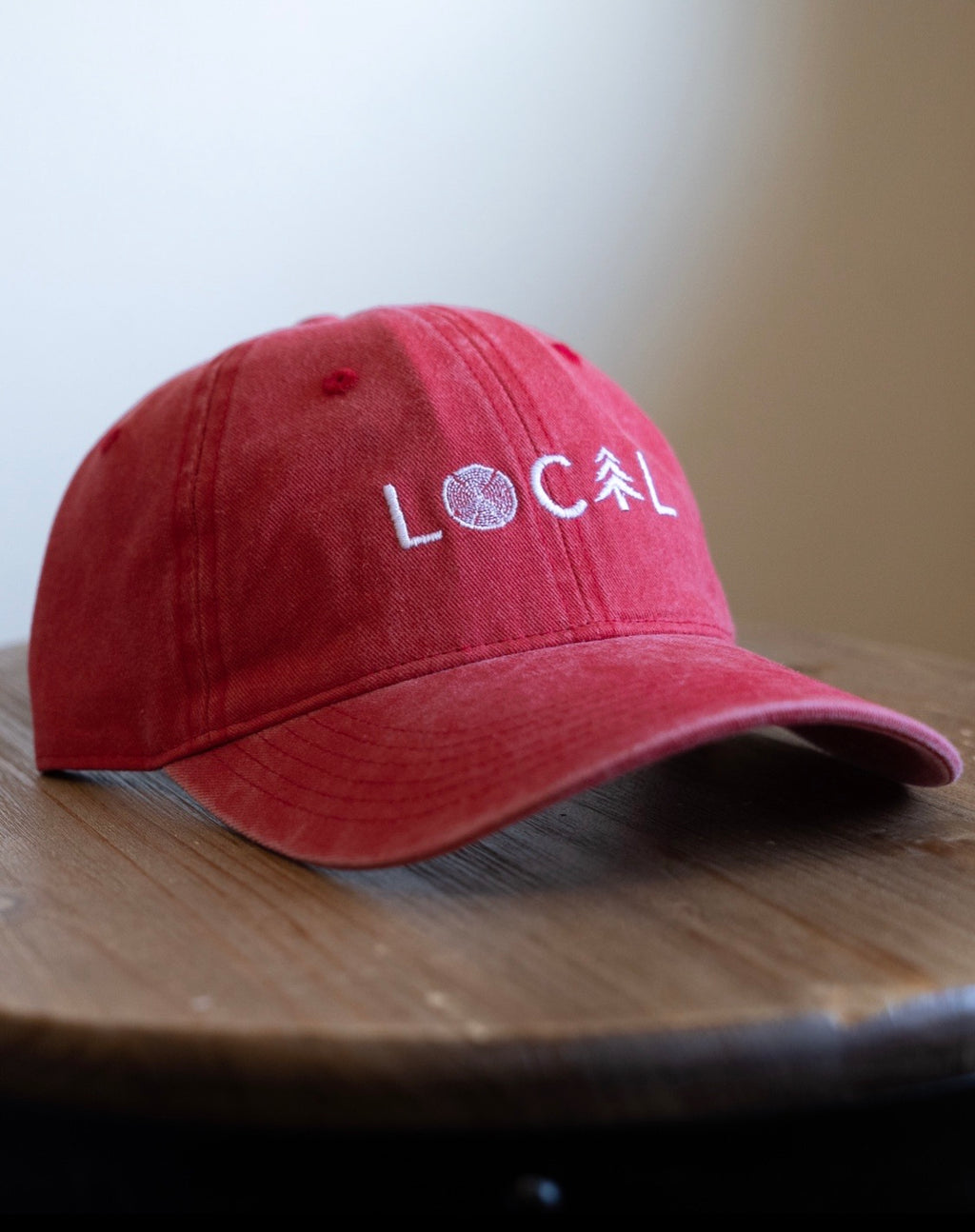 LOCAL Dad Hat - Vintage Red