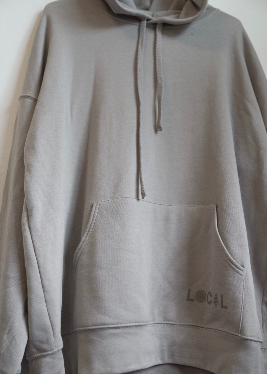 LOCAL Hoodie - Heather Stone