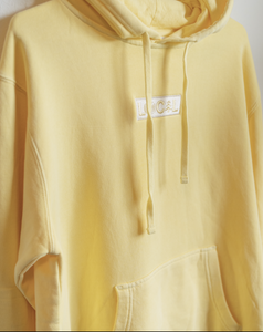 Vintage Hoodie - Faded Yellow