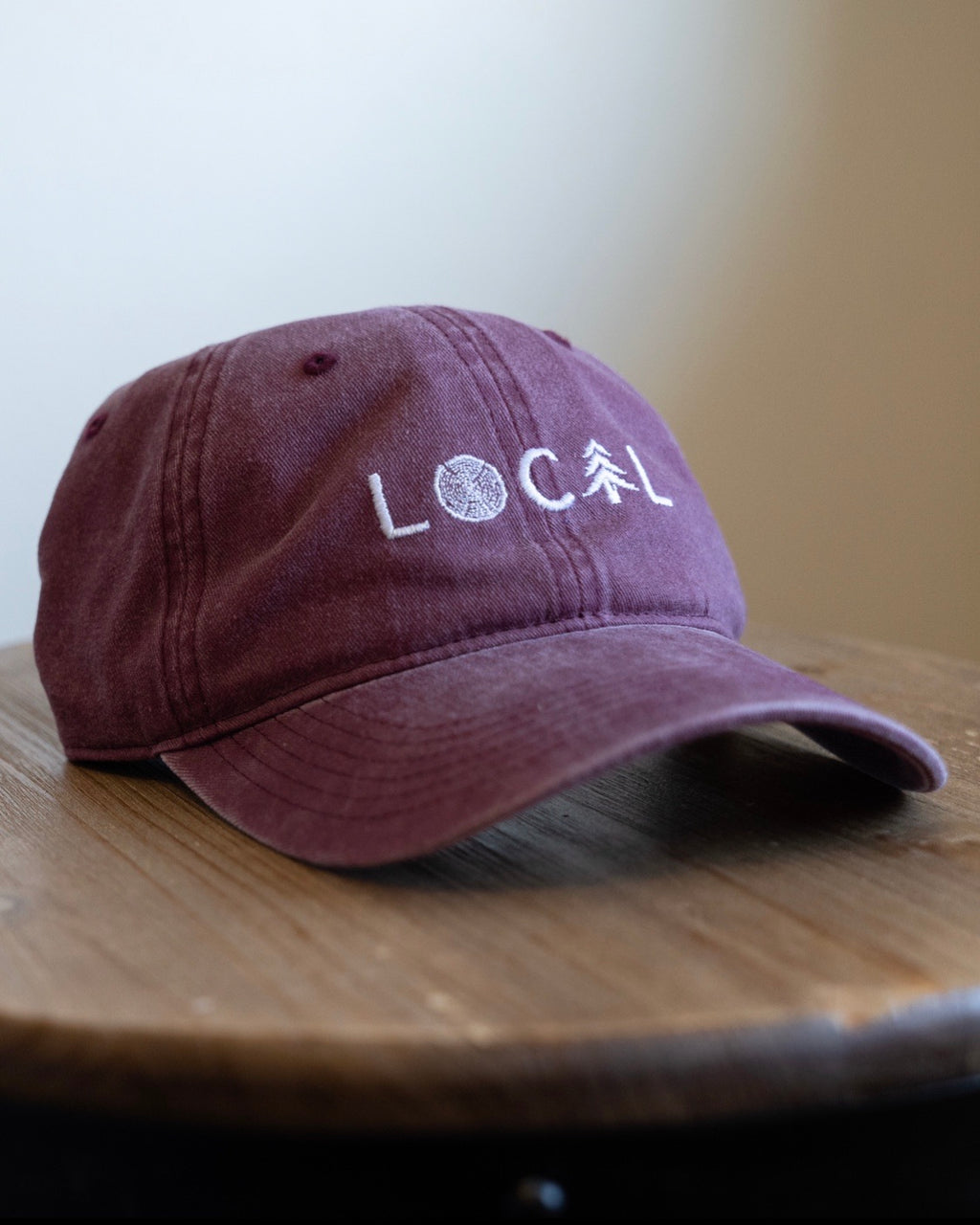 LOCAL Dad Hat - Vintage Maroon