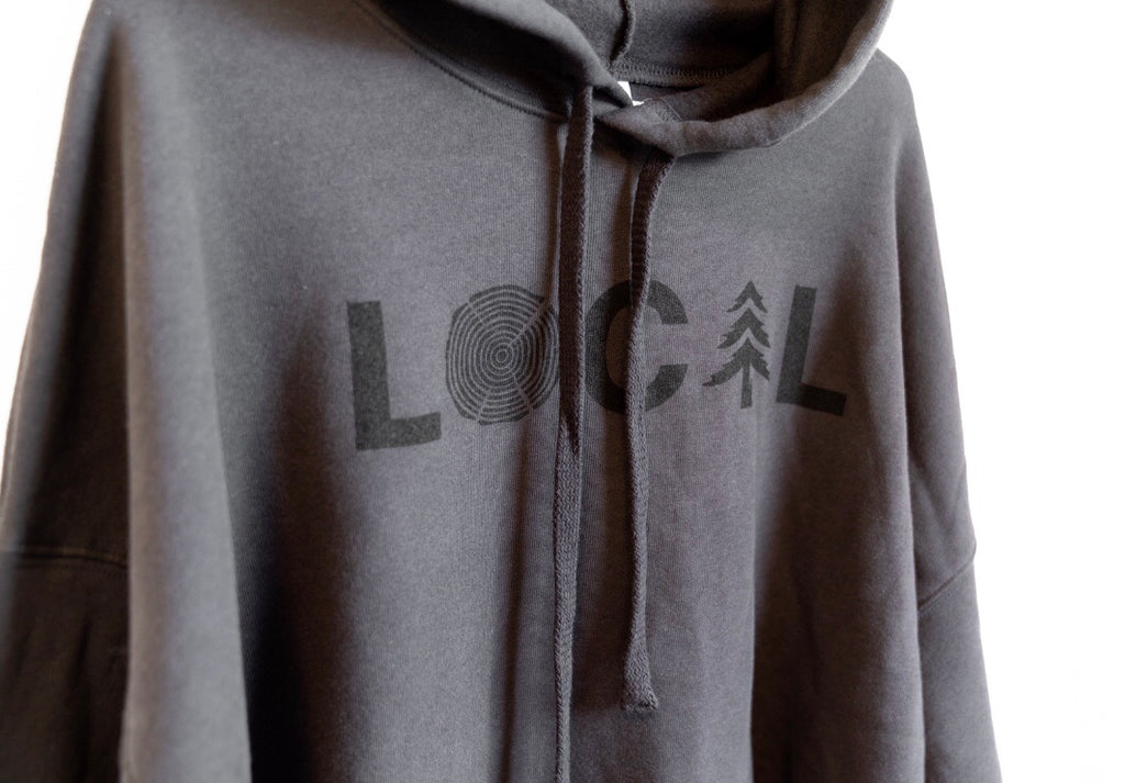 LOCAL Hoodie - Stealth Grey