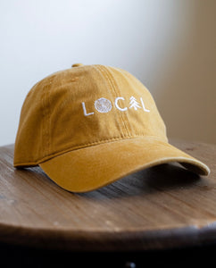 LOCAL Dad Hat - Vintage Gold
