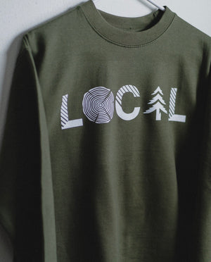 Crewneck Sweatshirt - Army
