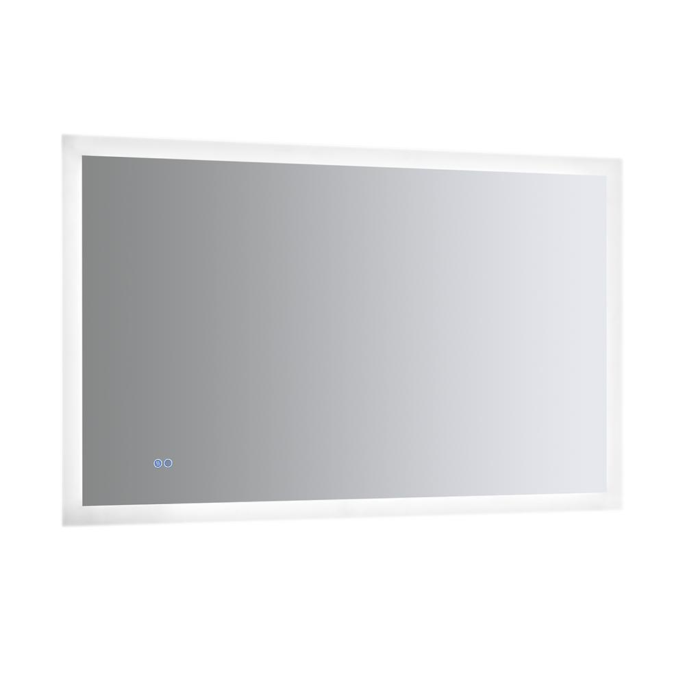 Fresca Angelo 48 Wide X 30 Tall Bathroom Mirror W Halo Style Led