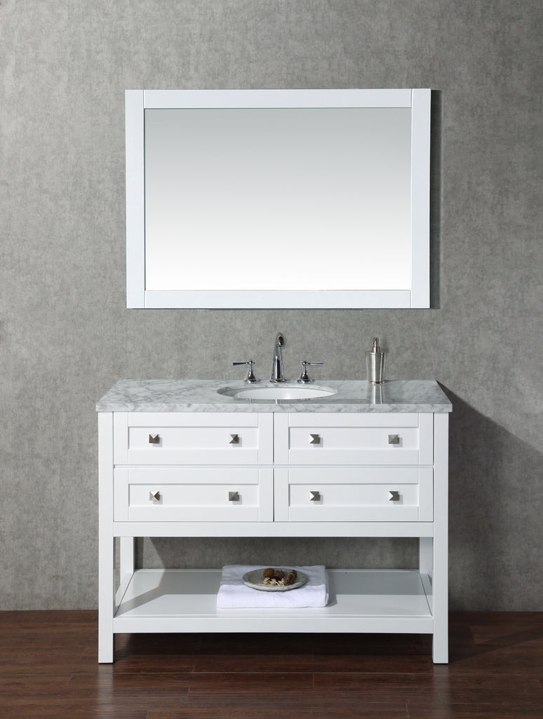 stufurhome sink vanity with cr hd mirror bathroom products inch view front single marla