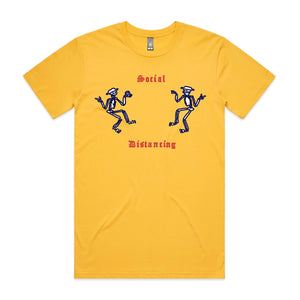 SOCIALLY DISTANT: YELLOW TEE