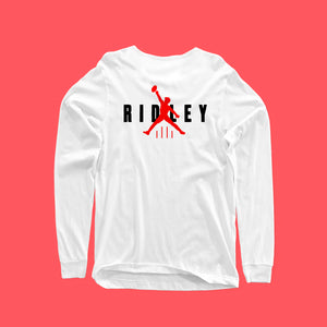 JORDAN! RIDLEY LONG SLEEVE FRONT AND BACK