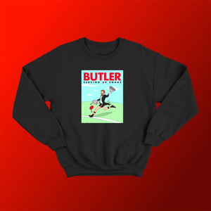 BUTLER: BLACK JUMPER