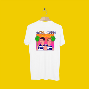 DANGERWOOD TEE FRONT AND BACK