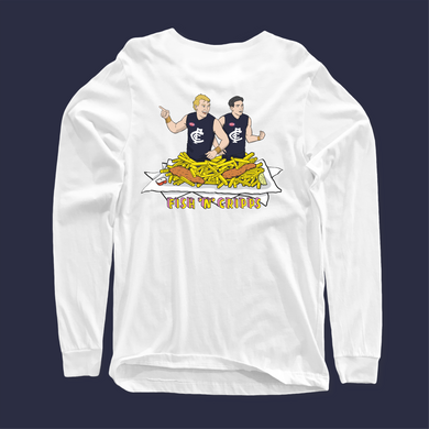 FISH AND CRIPPS LONGSLEEVE FRONT AND BACK