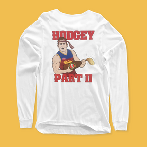 HODGEY PART II LONGSLEEVE FRONT AND BACK