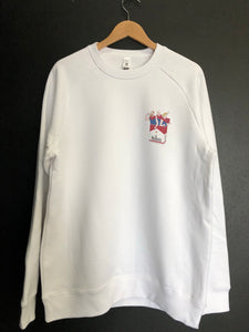 MELBBRO'S: WHITE JUMPER