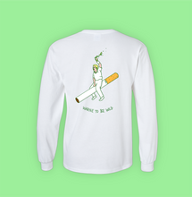 WARNE TO BE WILD LONG SLEEVE